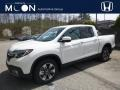 White Diamond Pearl - Ridgeline RTL-E AWD Photo No. 1