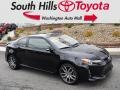 Black 2015 Scion tC