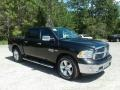 Brilliant Black Crystal Pearl - 1500 Big Horn Crew Cab Photo No. 7
