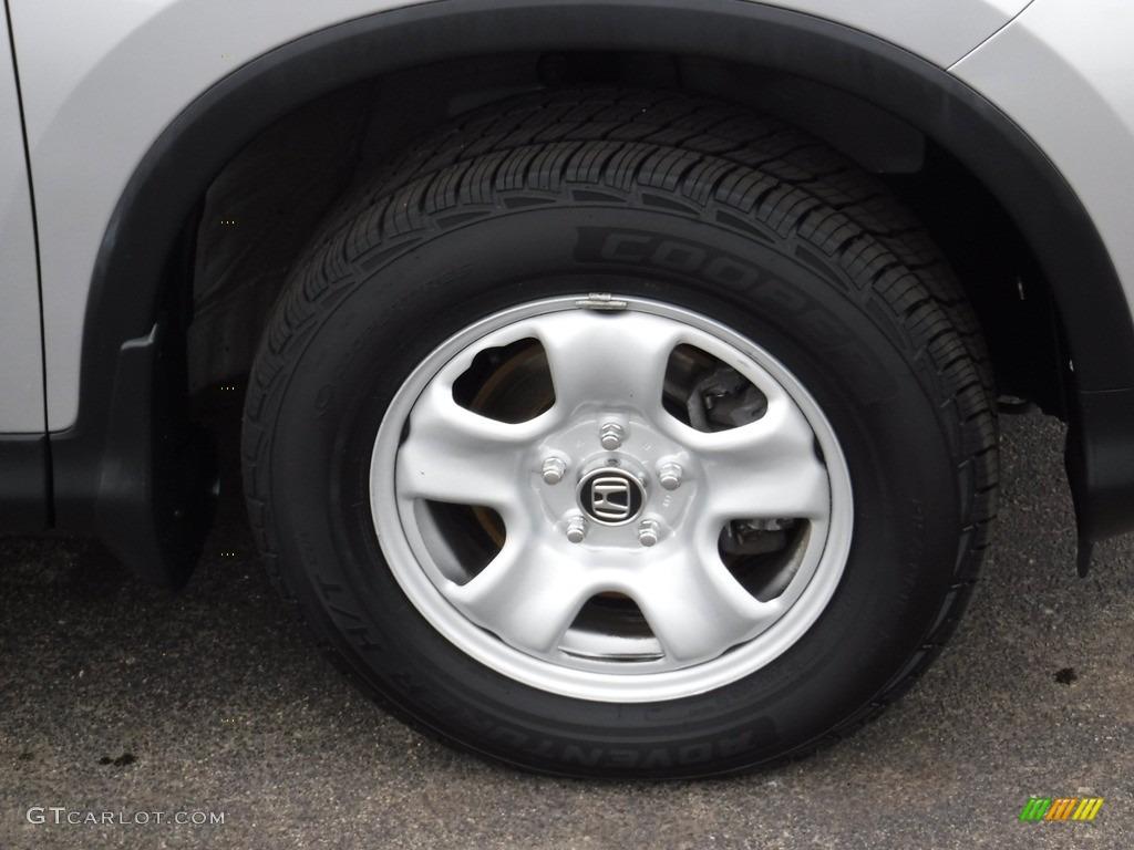 2015 CR-V LX AWD - Alabaster Silver Metallic / Gray photo #3