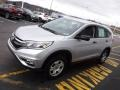 2015 Alabaster Silver Metallic Honda CR-V LX AWD  photo #5