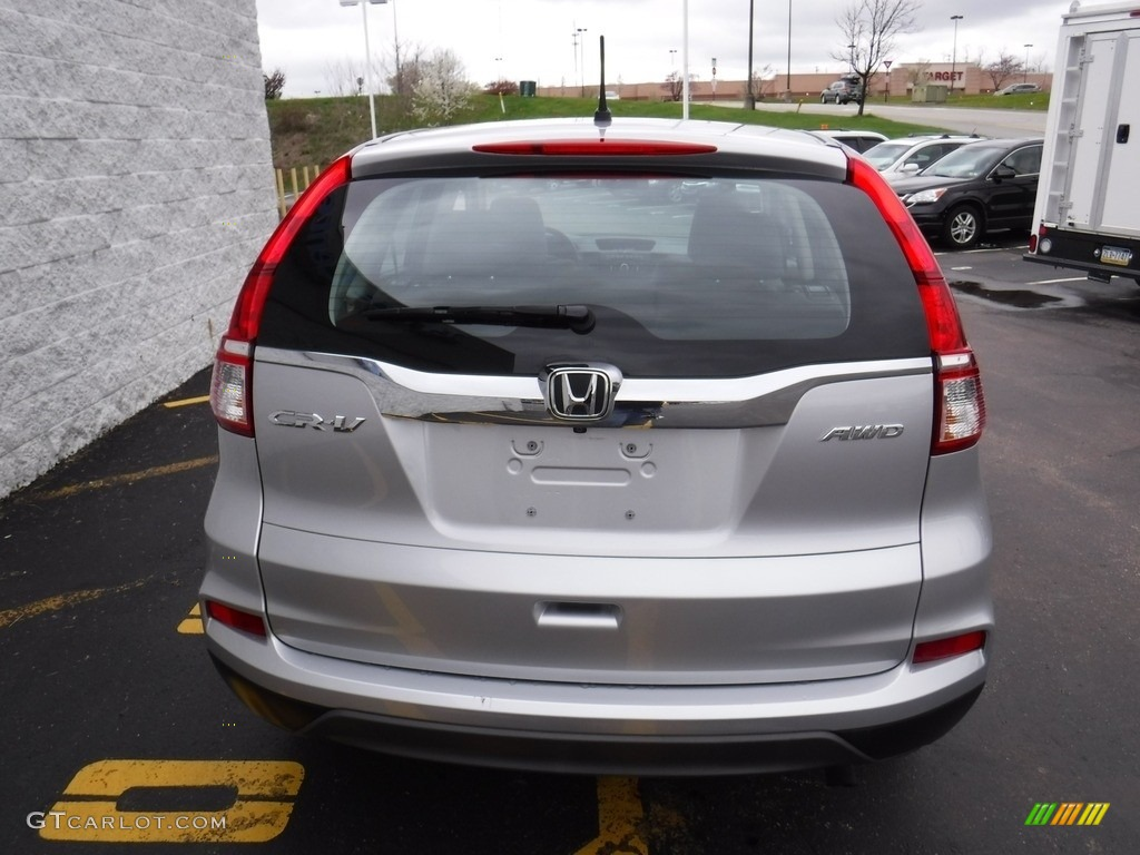 2015 CR-V LX AWD - Alabaster Silver Metallic / Gray photo #7