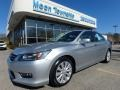 Alabaster Silver Metallic 2013 Honda Accord EX-L Sedan