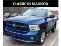 Blue Streak Pearl Coat 2014 Ram 1500 Express Regular Cab 4x4