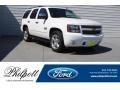 Summit White 2013 Chevrolet Tahoe LT