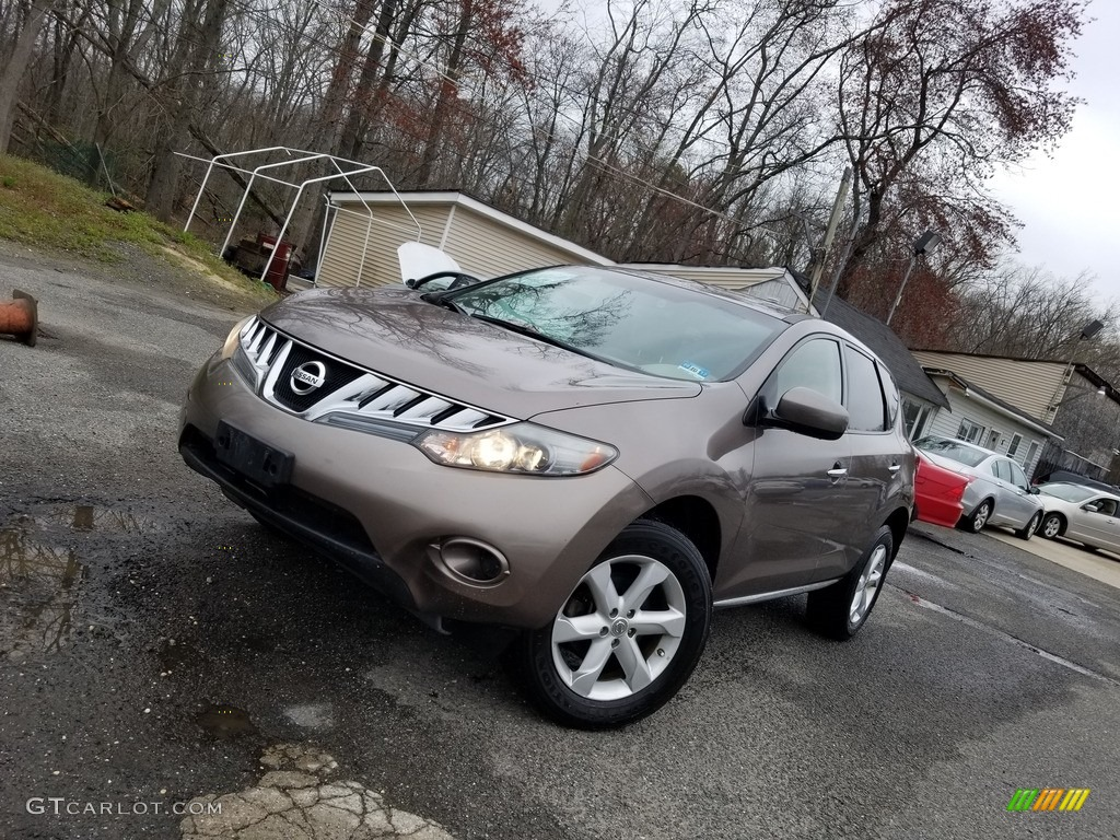 2010 Murano LE AWD - Tinted Bronze Metallic / Black photo #1
