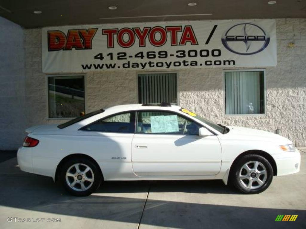 1999 white diamond pearl toyota solara sle v6 coupe 12670988 white diamond pearl toyota solara freerunsca Image collections