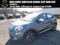Blue Sky Metallic 2018 Fiat 500X Pop AWD