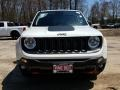 2018 Alpine White Jeep Renegade Trailhawk 4x4  photo #2