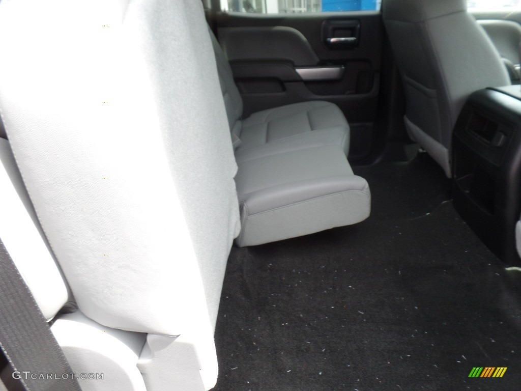 2018 Silverado 1500 LTZ Crew Cab 4x4 - Centennial Blue Metallic / Dark Ash/Jet Black photo #18