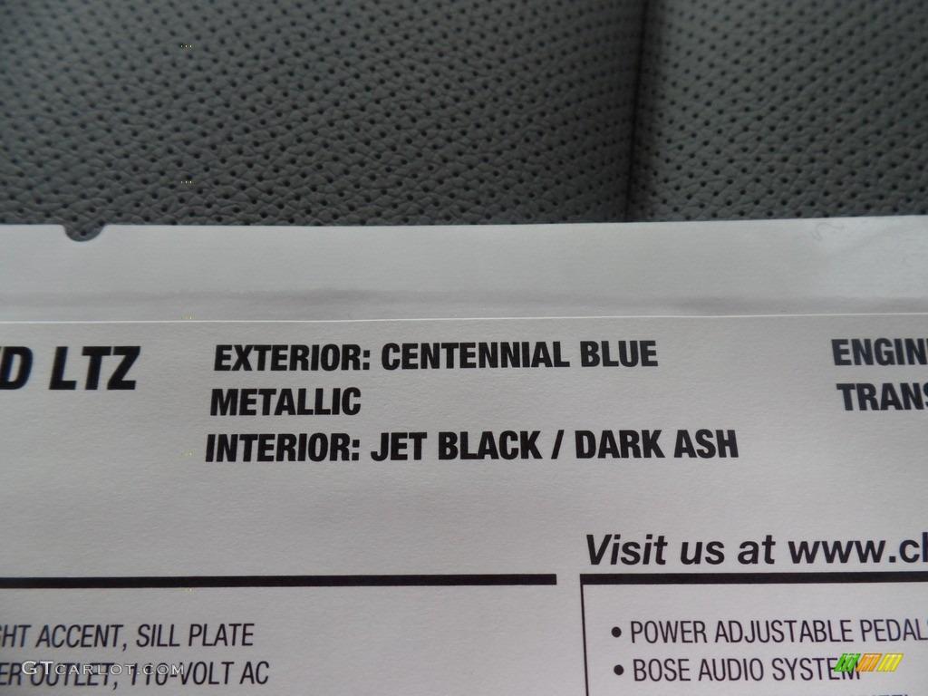 2018 Silverado 1500 LTZ Crew Cab 4x4 - Centennial Blue Metallic / Dark Ash/Jet Black photo #51