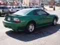 2000 Electric Green Metallic Ford Mustang V6 Coupe  photo #4