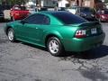 2000 Electric Green Metallic Ford Mustang V6 Coupe  photo #6