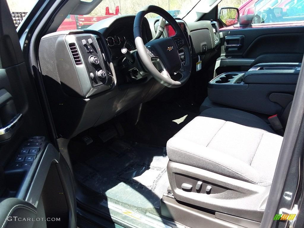 2018 Silverado 1500 LT Double Cab 4x4 - Graphite Metallic / Jet Black photo #4
