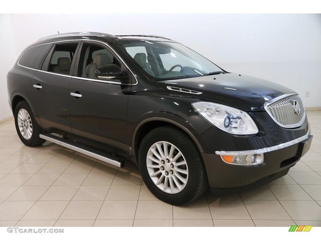 2010 Enclave CXL AWD - Carbon Black Metallic / Titanium/Dark Titanium photo #1