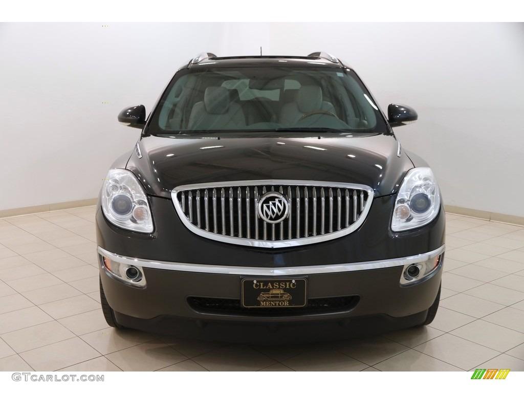 2010 Enclave CXL AWD - Carbon Black Metallic / Titanium/Dark Titanium photo #2