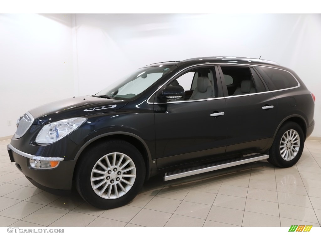 2010 Enclave CXL AWD - Carbon Black Metallic / Titanium/Dark Titanium photo #3