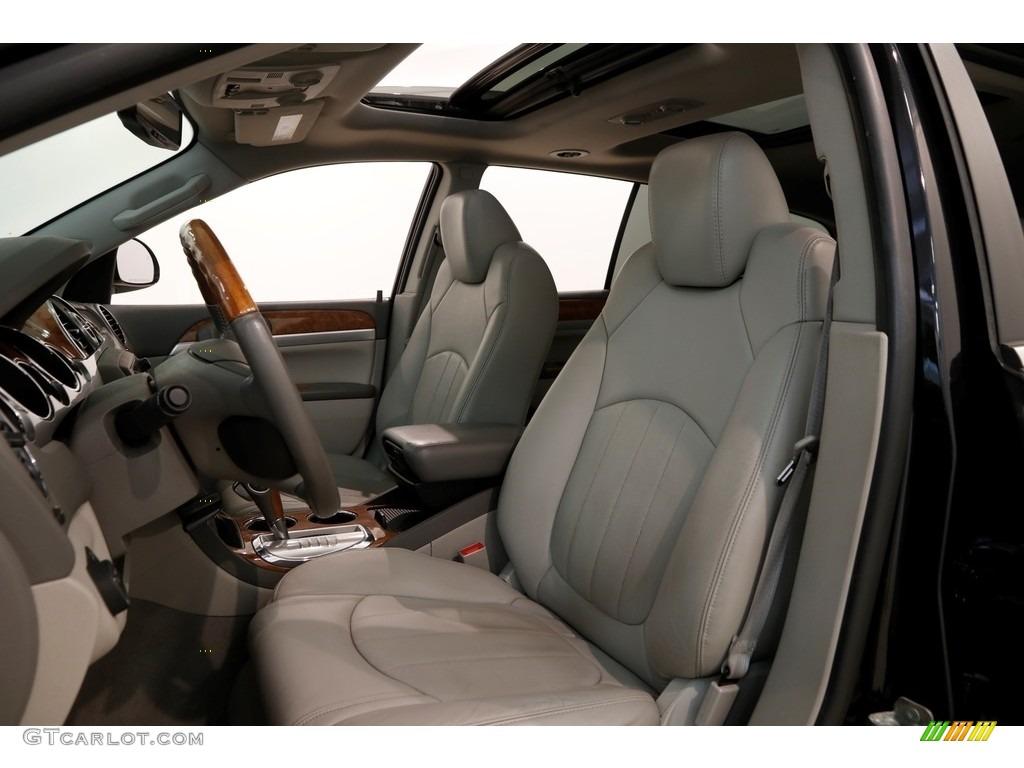2010 Enclave CXL AWD - Carbon Black Metallic / Titanium/Dark Titanium photo #5