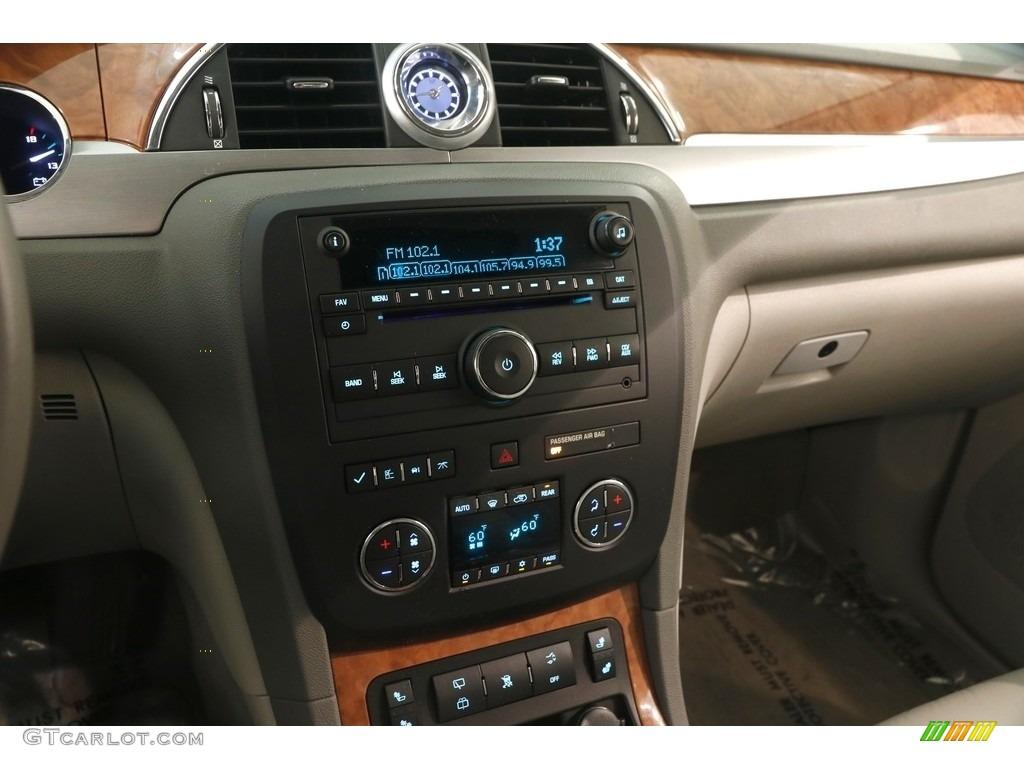 2010 Enclave CXL AWD - Carbon Black Metallic / Titanium/Dark Titanium photo #9