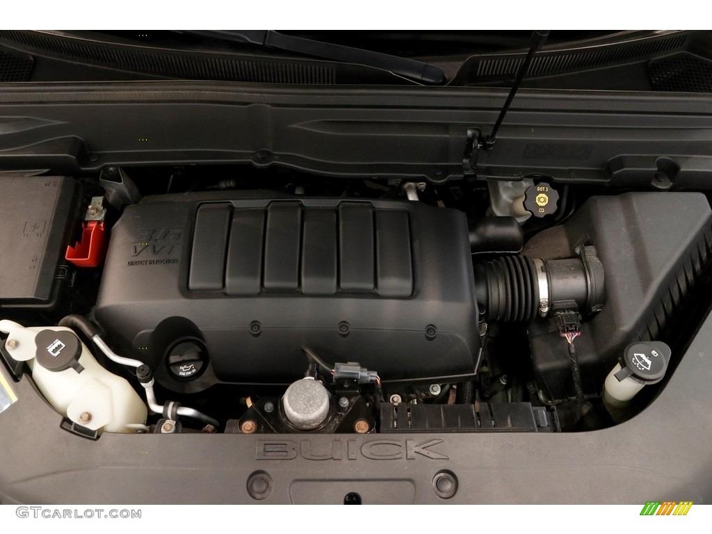 2010 Enclave CXL AWD - Carbon Black Metallic / Titanium/Dark Titanium photo #17