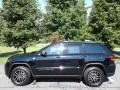 Diamond Black Crystal Pearl 2018 Jeep Grand Cherokee Trailhawk 4x4