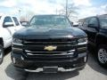 2018 Black Chevrolet Silverado 1500 LTZ Double Cab 4x4  photo #2