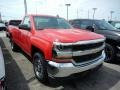 Red Hot 2018 Chevrolet Silverado 1500 LS Regular Cab 4x4 Exterior