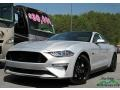 2018 Ingot Silver Ford Mustang GT Premium Fastback  photo #1