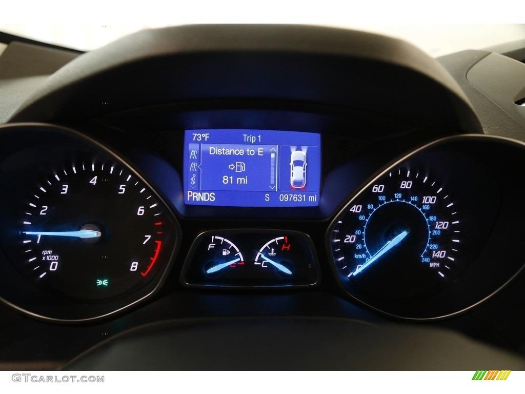 2014 Escape SE 1.6L EcoBoost 4WD - White Platinum / Charcoal Black photo #9