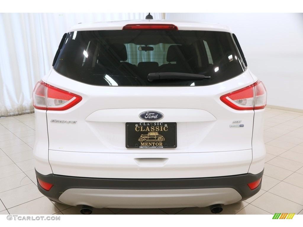 2014 Escape SE 1.6L EcoBoost 4WD - White Platinum / Charcoal Black photo #19