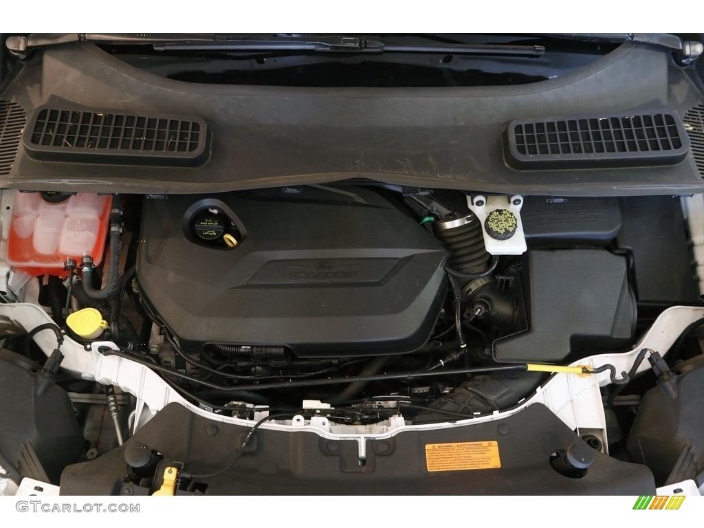 2014 Escape SE 1.6L EcoBoost 4WD - White Platinum / Charcoal Black photo #20