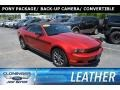 2012 Race Red Ford Mustang V6 Convertible #127180721