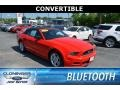 2013 Race Red Ford Mustang V6 Premium Convertible #127180712