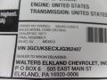 2018 Centennial Blue Metallic Chevrolet Silverado 1500 LTZ Crew Cab 4x4  photo #52