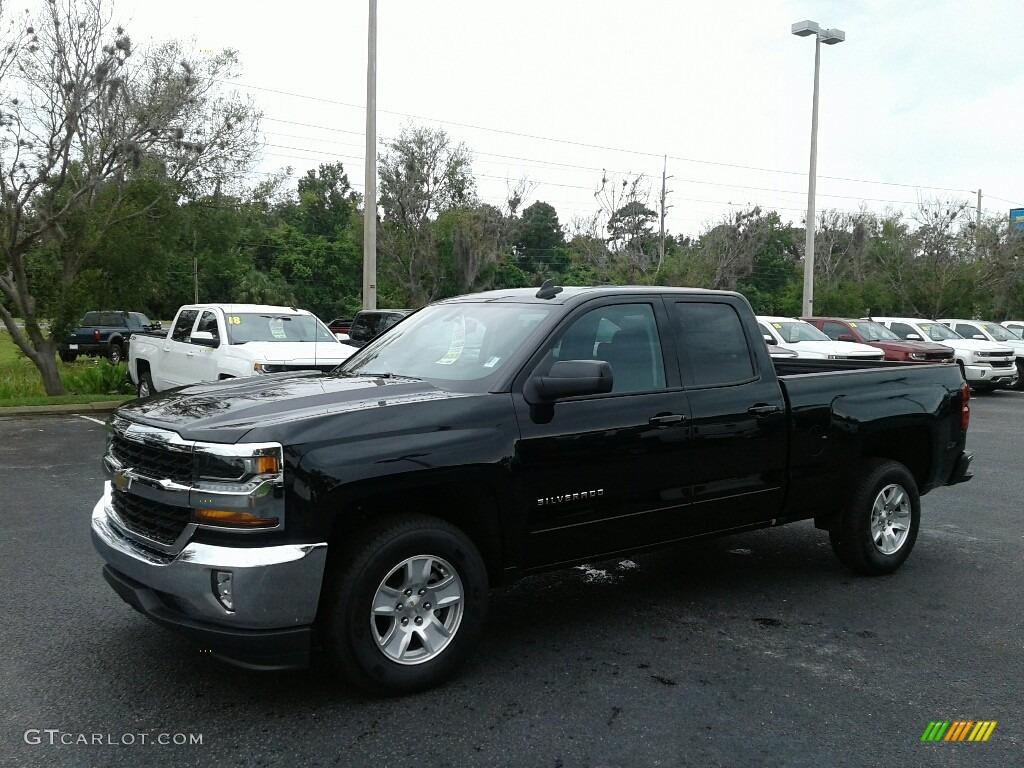 Black Chevrolet Silverado 1500