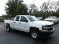 2018 Summit White Chevrolet Silverado 1500 WT Double Cab 4x4  photo #7