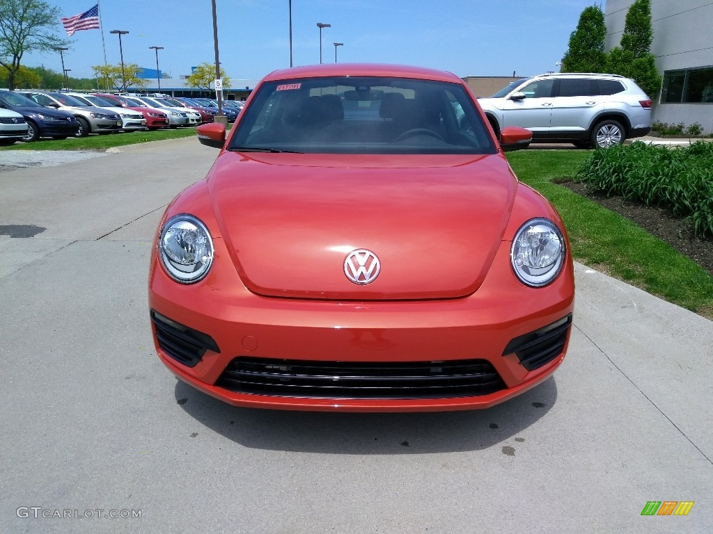 Habanero Orange Metallic Volkswagen Beetle