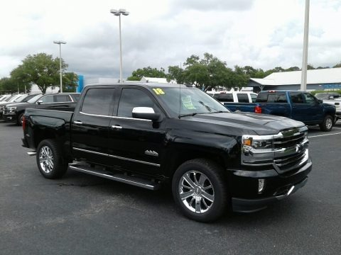 2018 Chevrolet Silverado 1500 High Country Crew Cab Data, Info and Specs