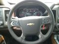 2018 Chevrolet Silverado 1500 High Country Saddle Interior Steering Wheel Photo