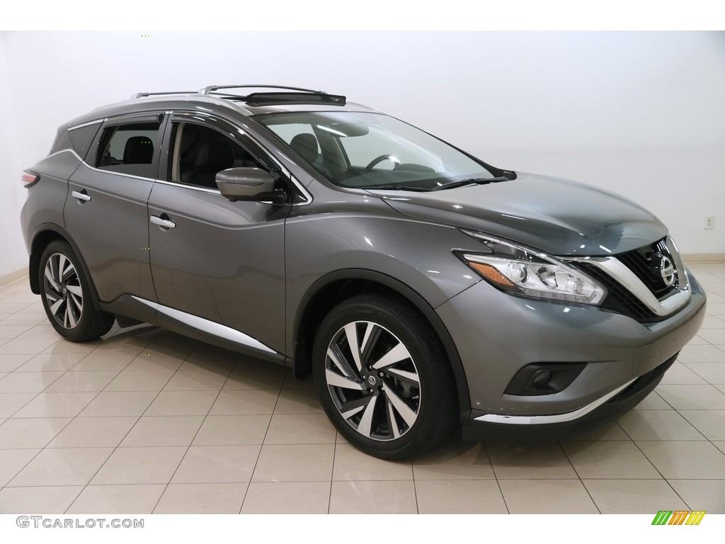 2017 Gun Metallic Nissan Murano Platinum Awd 127252948