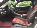 2017 718 Cayman  Black/Bordeaux Red Interior