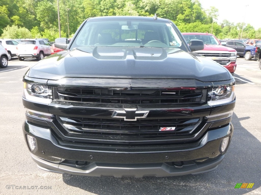 2018 Silverado 1500 LTZ Crew Cab 4x4 - Black / Jet Black photo #8