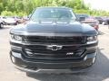 2018 Black Chevrolet Silverado 1500 LTZ Crew Cab 4x4  photo #8