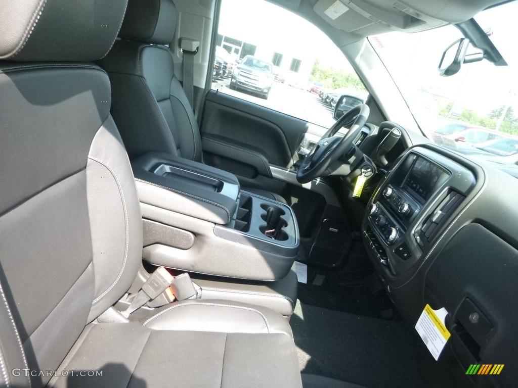 2018 Silverado 1500 LTZ Crew Cab 4x4 - Black / Jet Black photo #10
