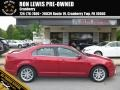 Red Candy Metallic 2012 Ford Fusion SEL V6