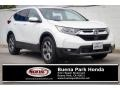 2017 White Diamond Pearl Honda CR-V EX-L  photo #1