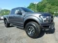 Front 3/4 View of 2018 F150 SVT Raptor SuperCab 4x4