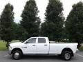 Bright White 2015 Ram 3500 Tradesman Crew Cab 4x4 Dual Rear Wheel