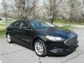 2017 Shadow Black Ford Fusion Hybrid SE  photo #4