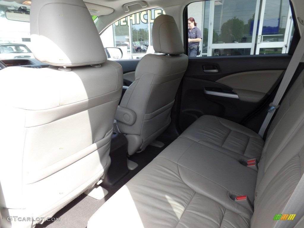 2014 CR-V EX-L AWD - Mountain Air Metallic / Beige photo #12